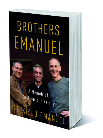 Brothers Emanuel Book Cover - P 2013