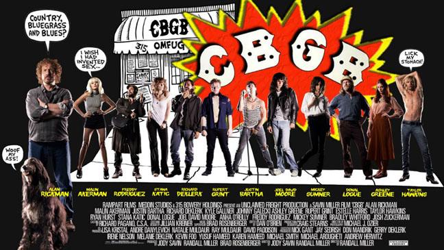 CGBG Movie Poster - H 2013