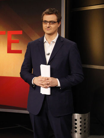 Up with Chris Hayes MSNBC - P 2013