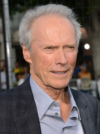 Clint Eastwood Headshot - P 2013