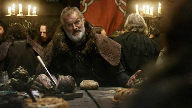 Clive Mantle as Greatjon Umber Game of Thrones - H 2013