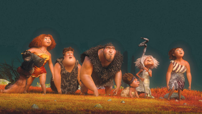 The Croods Group Shot - H 2013