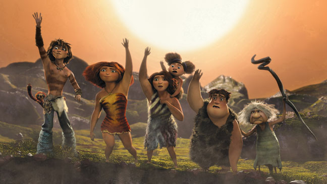 The Croods Group Wave - H 2013