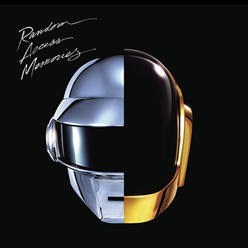 Daft Punk Random Access Memories cover P