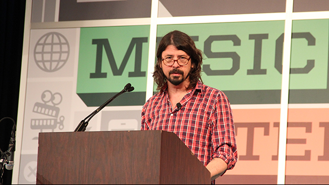 Dave Grohl SXSW keynote 2013 L