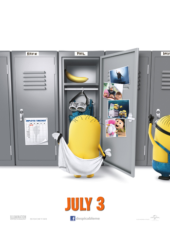 Despicable Me 2 one sheet 2 - P 2013