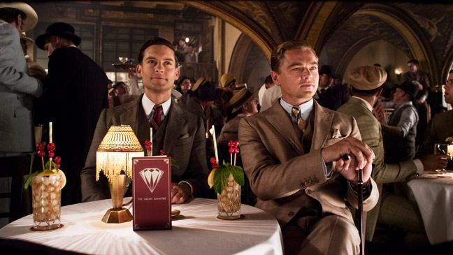 The Great Gatsby Maguire DiCaprio - H 2013