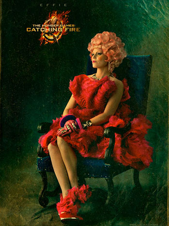 The Hunger Games Effie Capitol Portrait - P 2013