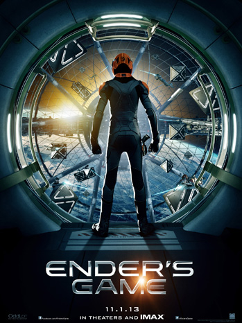 Ender's Game one sheet - P 2013