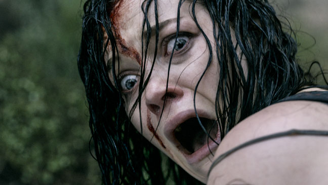 Evil Dead Jane Levy Screaming - H 2013