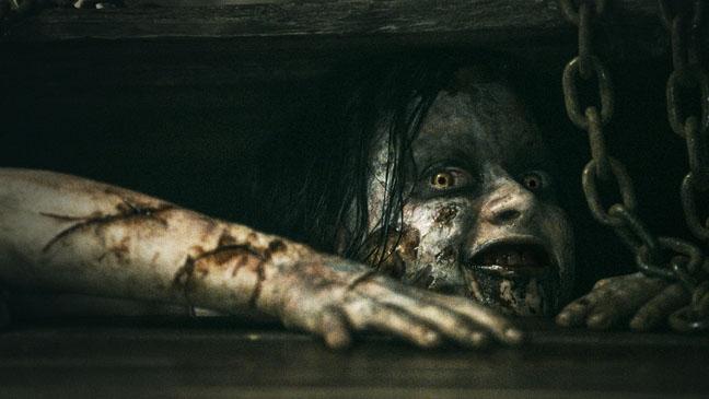 Evil Dead Jane Levy Under Floor - H 2013