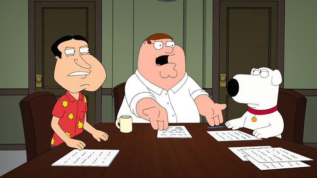 Family Guy 12 And a Half Angry Men - H 2013