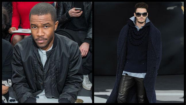 Frank Ocean Chanel Paris Fashion Week Split - H 2013