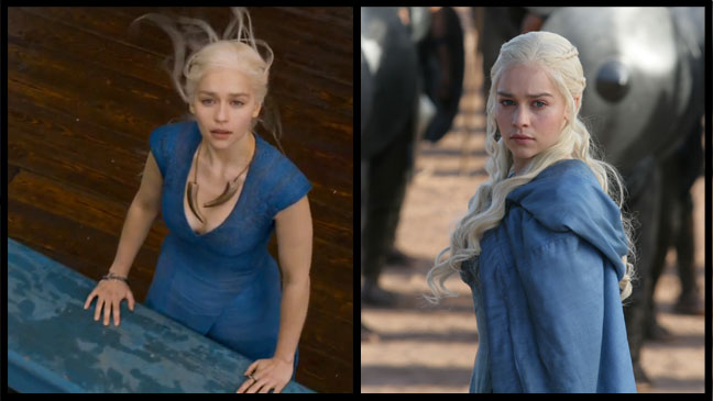 Game of Thrones Emilia Clarke Split - H 2013