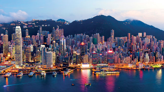 Hong Kong Skyline - H 2013