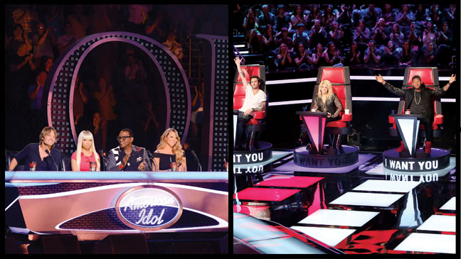 American Idol The Voice - H 2013