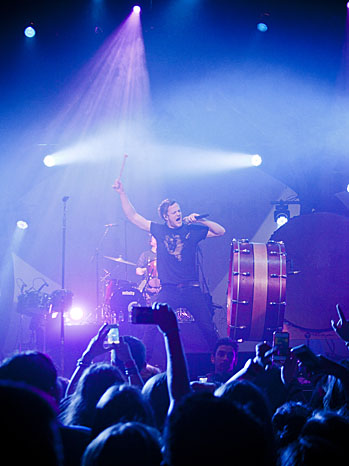 Imagine Dragons The Wiltern Color - P 2013