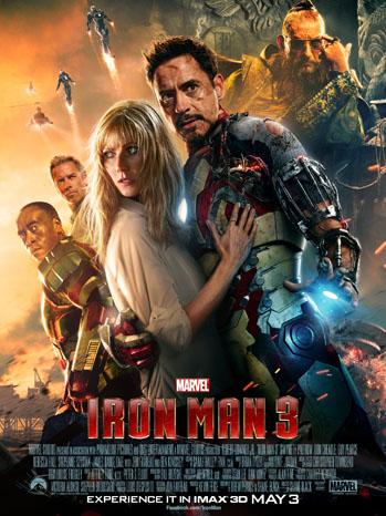 Iron Man 3 Poster Collage - P 2013