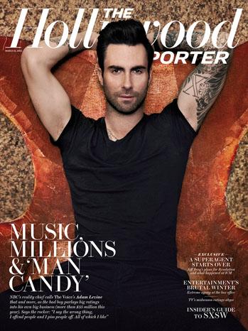 Issue 10 Adam Levine Cover - P 2013