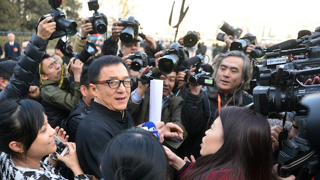 Jackie Chan Beijing Political Conference 2013 H