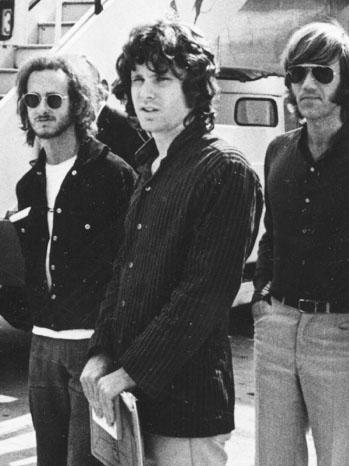 Jim Morrison Getting off Plane 1968 - P 2013