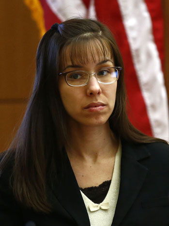 Jodi Arias on Stand During Trial - P 2013