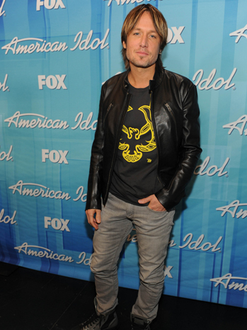 Keith Urban American Idol top 10 party P