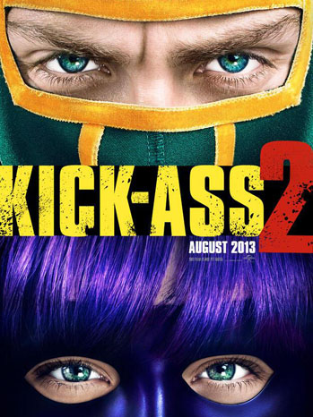 Kick-Ass 2 Poster - P 2013