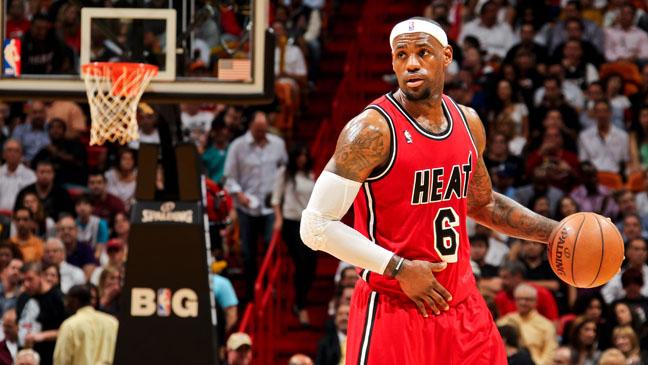 Lebron James Miami Heat - H 2013