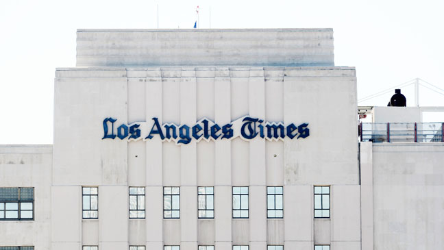 Los Angeles Times Building - H 2013