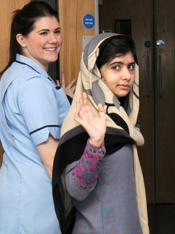 Malala Yousafzai Headshot - P 2013