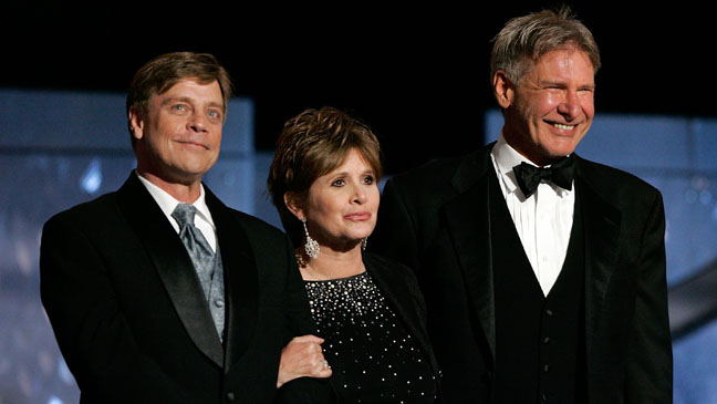Mark Hamill Carrie Fisher Harrison Ford 2005 - H 2013