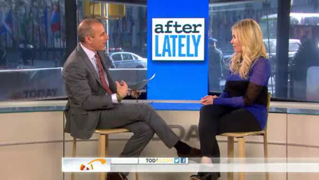 Matt Lauer Chelsea Lately Today Show Screengrab - H 2013