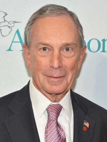 Michael Bloomberg Headshot - P 2013
