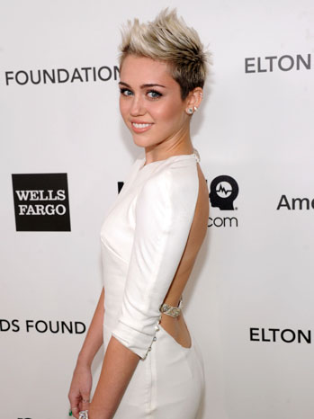 Miley Cyrus Elton John Party - P 2013