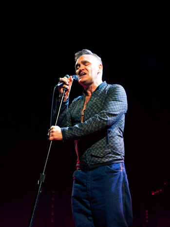 Morrissey Performing at Staples - P 2013