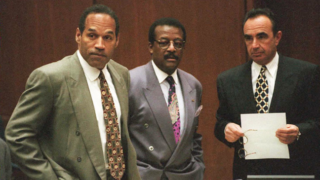 O.J Simpson in Court 1995 - H 2013
