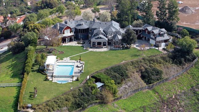 Osbourne Mansion Aerial - H 2013