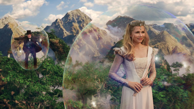 Oz The Great and Powerful Williams in Bubble - H 2013