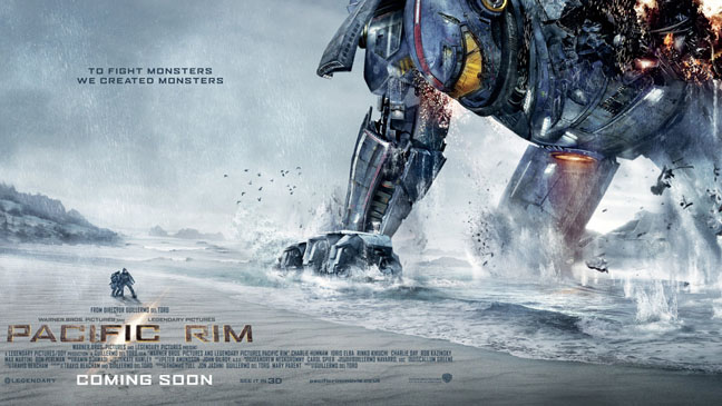 Pacific Rim One Sheet - H 2013