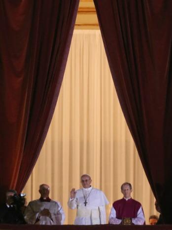 Pope Francis I medium balcony - P 2013