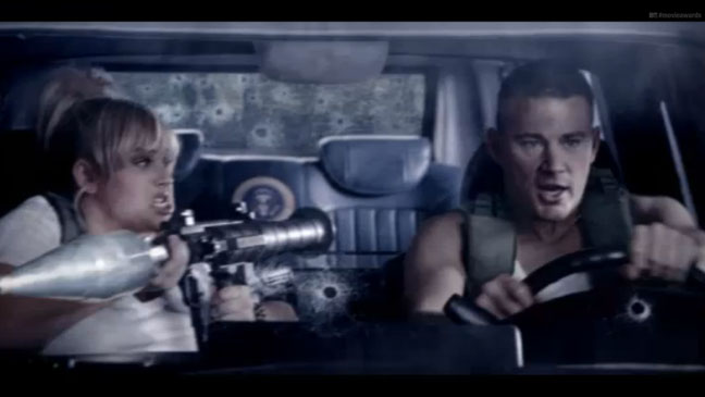 MTV Movie Awards Promo Wilson Tatum Screengrab - H 2013