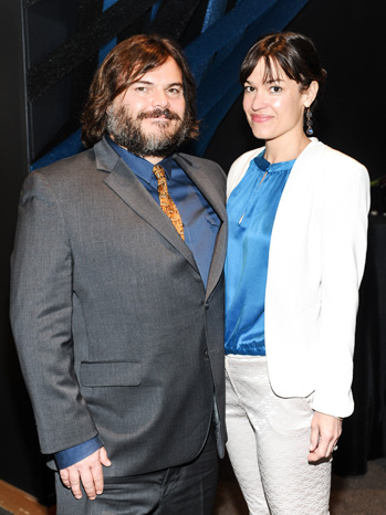 Jack Black and Tanya Haden - REDCAT fundraiser - P 2013