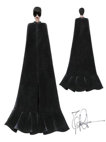 Rihanna Givenchy Costumes - P 2013