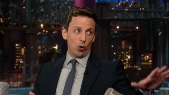 Seth Meyers Late Show - H 2013