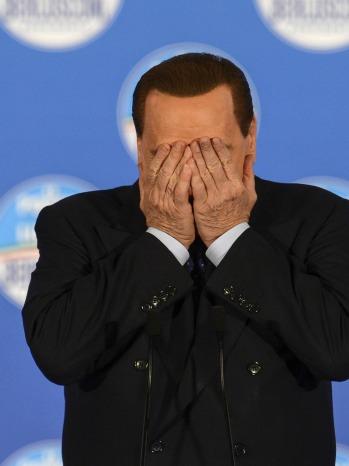 Silvio Berlusconi regret - P 2013