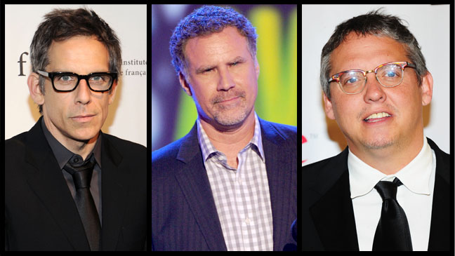Ben Stiller Will Ferrell Adam McKay Split - H 2013