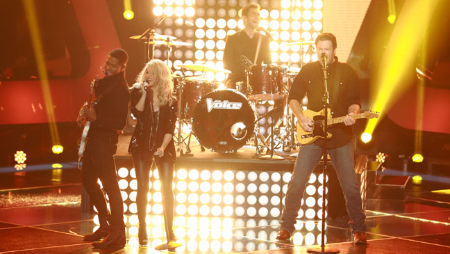 The Voice Season 4 Premiere Coaches Performing - H 2013