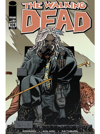 The Walking Dead Comic Cover 108 - P 2013
