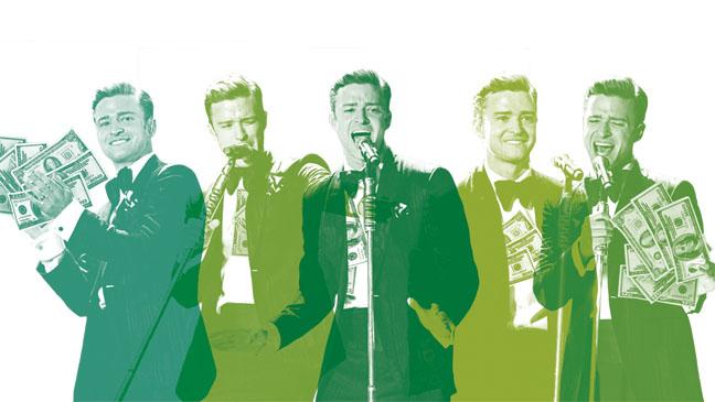 Timberlake Money Graphic - H 2013